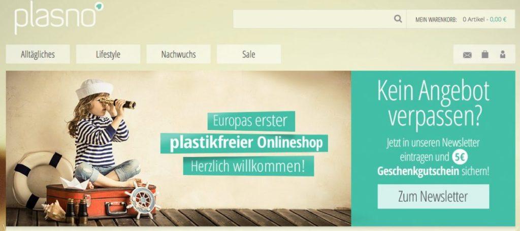 plastikfreie Produkte online kaufen