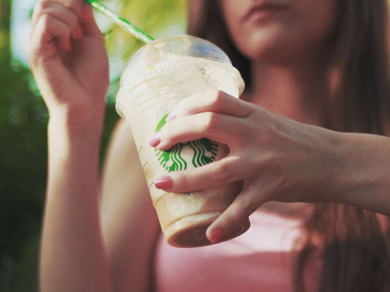 Einweg Kaffeebecher Starbucks