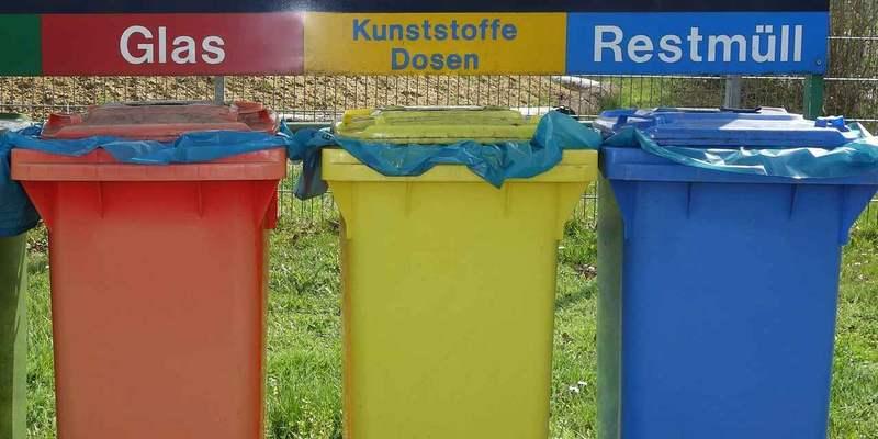Mülltonnen Mulltrennung