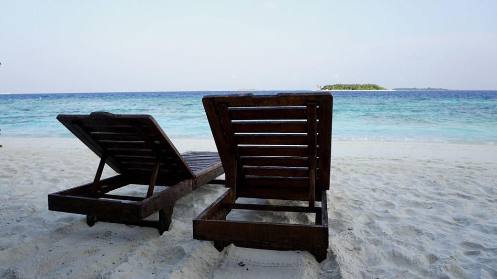 relaxen am Reethi Strand