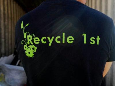 Logo von recycle 1st