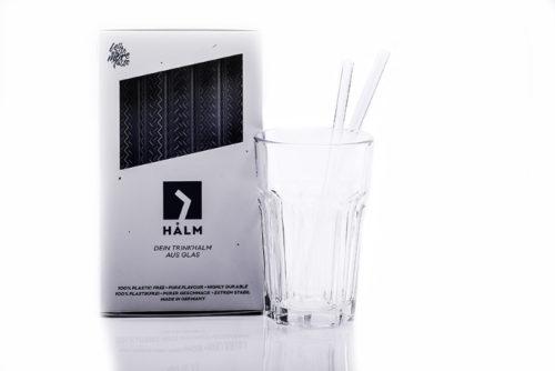 Glasstrohhalme Halm