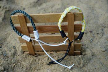 Armbänder aus Strandmüll