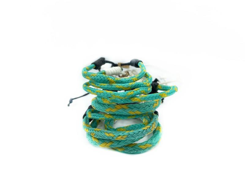 Recycling Armband aus dem Meer