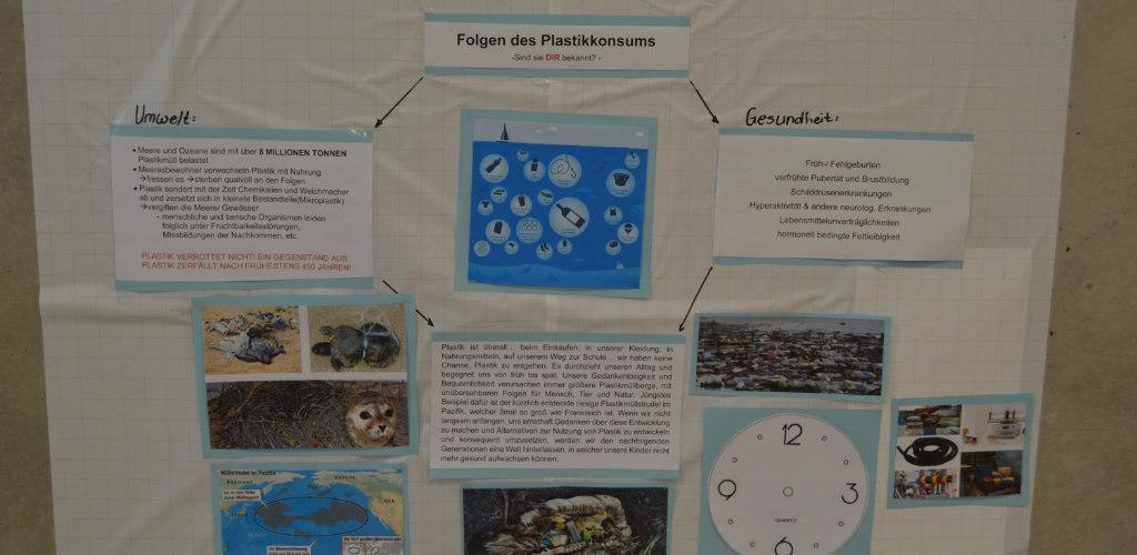Schulprojekt Plastikmüll