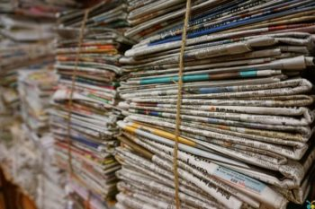 Müll trennen - Papier