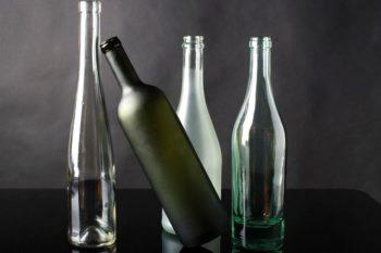 Müll trennen - Glas